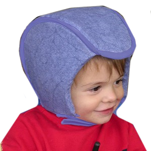 Plum's ProtectaCap® Lightweight Custom-Fitting Protective Headgear Toddler Denim